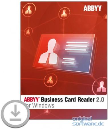 ABBYY Business Card Reader 2 0 for Windows bei uns für 19