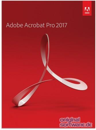 Adobe Acrobat Pro 2017 Deutsch Windows Mac Download