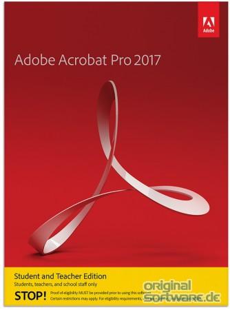 Adobe Acrobat Pro 2017 Englisch Mac Download Student Teacher