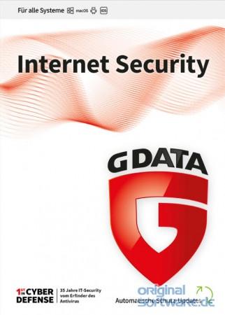 G DATA Internet Security 2020   1 Gerät   2 Jahre Schutz