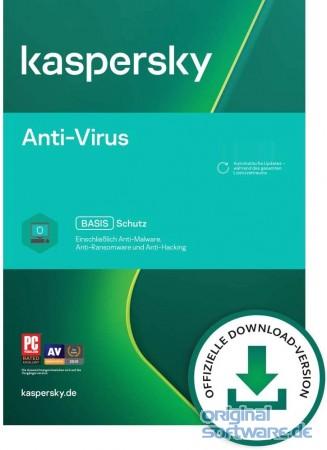 Kaspersky Anti-Virus 2019   1 PC   1 Jahr bei uns für 13