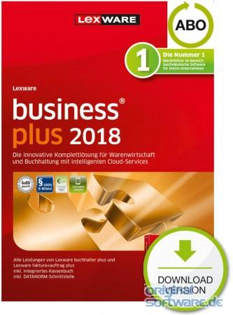 Lexware Business Plus 2018 | Abo-Vertrag | Download bei uns für 323 ...