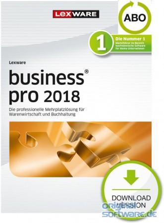 Lexware Business Pro 2018 | Abo-Vertrag | Download bei uns für 636 ...