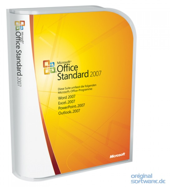 microsoft office standard 2007 cd retail box deutsch bei uns f r 449 00 eur kaufen. Black Bedroom Furniture Sets. Home Design Ideas