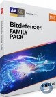 Bitdefender Family Pack 2018 | Unlimitierte Anzahl Geräte im Haushalt* | 3 Jahre