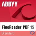 ABBYY FineReader 15 Standard |für Non Profit Organisationen | inkl. Backup DVD