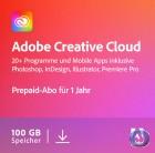 Adobe Creative Cloud Individual Komplett-Abo | Mehrsprachig | Laufzeit 1 Jahr