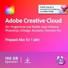 Adobe Creative Cloud Individual Komplett-Abo/alle Applikationen | Mehrsprachig | Laufzeit 1 Jahr