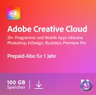 Adobe Creative Cloud Komplett-Abo | Laufzeit 1 Jahr