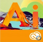 Adobe Illustrator CC /  1 Jahr Abonnement / Schulen/Institutionen / Ger�te Lizenz