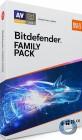 Bitdefender Family Pack 2019 | Unlimitierte Anzahl Geräte im Haushalt* | 3 Jahre