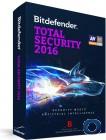 Bitdefender Total Security 2016 3 PCs / 1 Jahr / Windows / Abverkauf