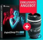 Corel PaintShop Pro 2019 Ultimate | DVD Version | Deutsch | + Corel Objektiv Tasse | Abverkauf