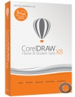 CorelDRAW Home & Student Suite X8 / 3 PCs /DVD Version