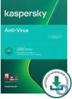 Kaspersky Anti-Virus 2020 | 3 PCs | 1 Jahr | Verlängerung