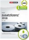 Lexware Pro|Premium 1 Nutzer Zusatzlizenz 2018 | Abo-Vertrag