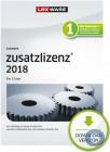 Lexware Pro|Premium 2 Nutzer Zusatzlizenz 2018 | 365 Tage Laufzeit