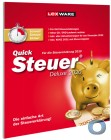 Lexware QuickSteuer Deluxe 2021 | für die Steuererklärung 2020 | FFP (frustfreie Verpackung)