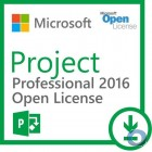 Microsoft Project Professional 2016 Open Lizenz