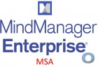 Mindjet MindManager Enterprise MSA   ab 5 Nutzer   1 Jahres Abonnement