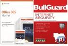 Office 365 Home| bis zu 6 Benutzer inkl. BullGuard Internet Security 5 PCs | 1-Jahres-Lizenz