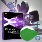 Pinnacle Studio 21 Ultimate | DVD + grünes Tuch